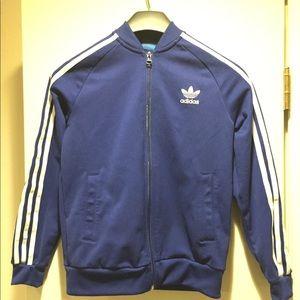 Adidas Boys Royal Blue Jacket 11-12 size